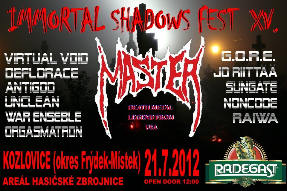 Detail akce Immortal Shadows Fest vol.15