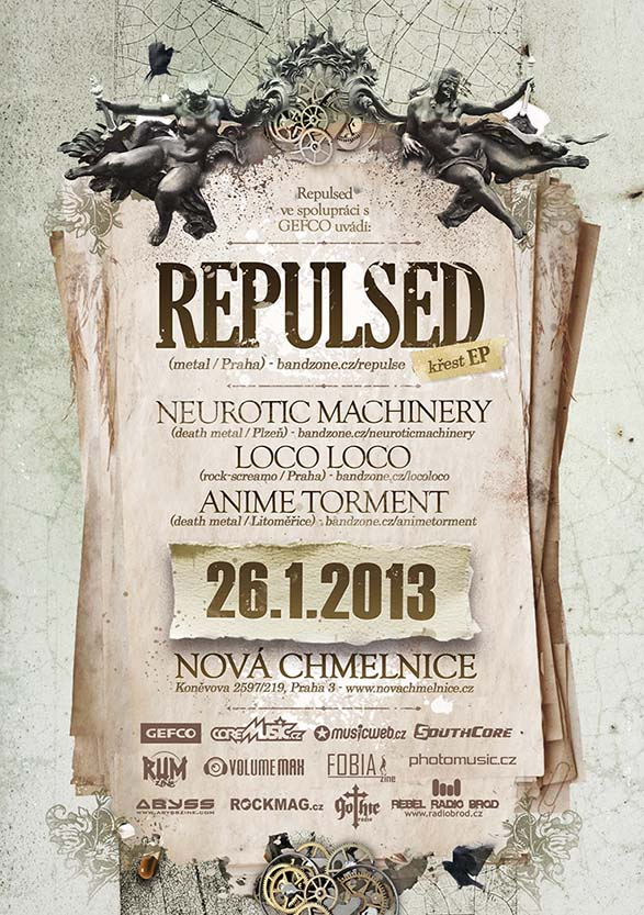Detail akce Repulsed EP Release Party