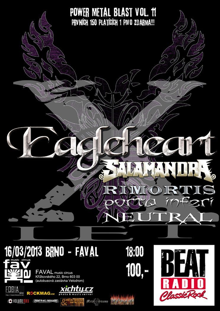 Detail akce Power Metal Blast vol. 11 | 10 let EAGLEHEART