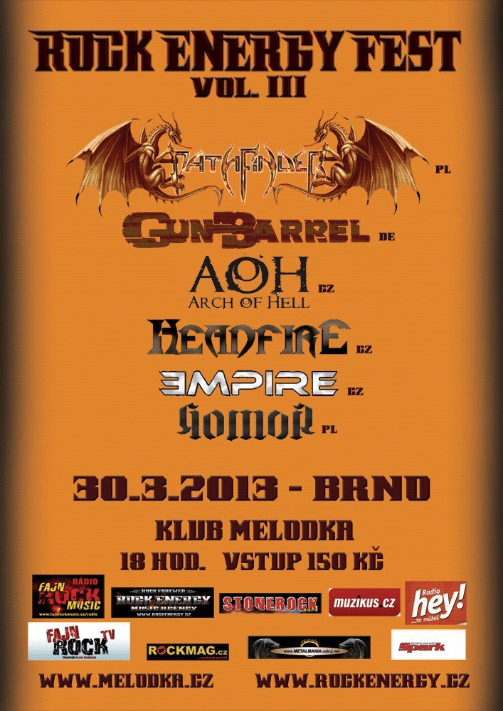 Detail akce Rock Energy Fest vol.3