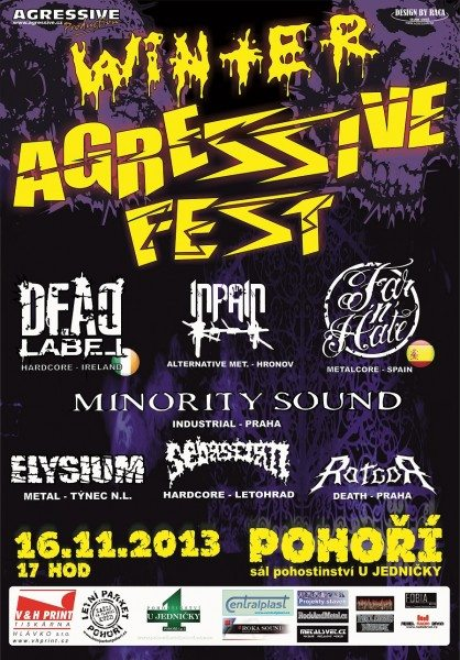 Detail akce Winter Agressive Fest 2013