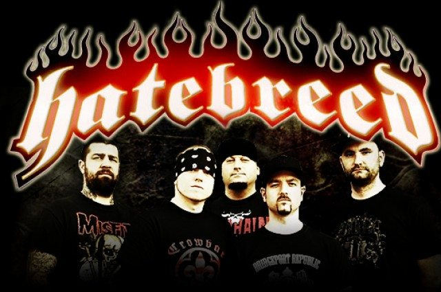Detail akce Hatebreed a Napalm Death v Barraku