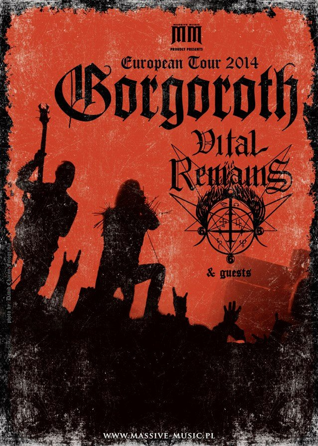 Detail akce Gorgoroth, Vital Remains + support