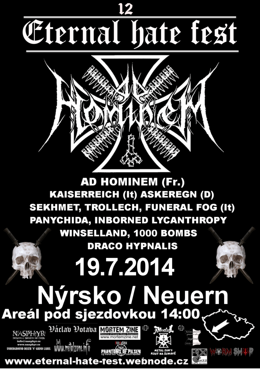 Detail akce Eternal Hate Fest 2014