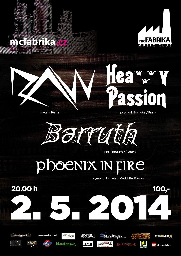 Detail akce Raw, Heavy Passion, Barruth, Phoenix In Fire