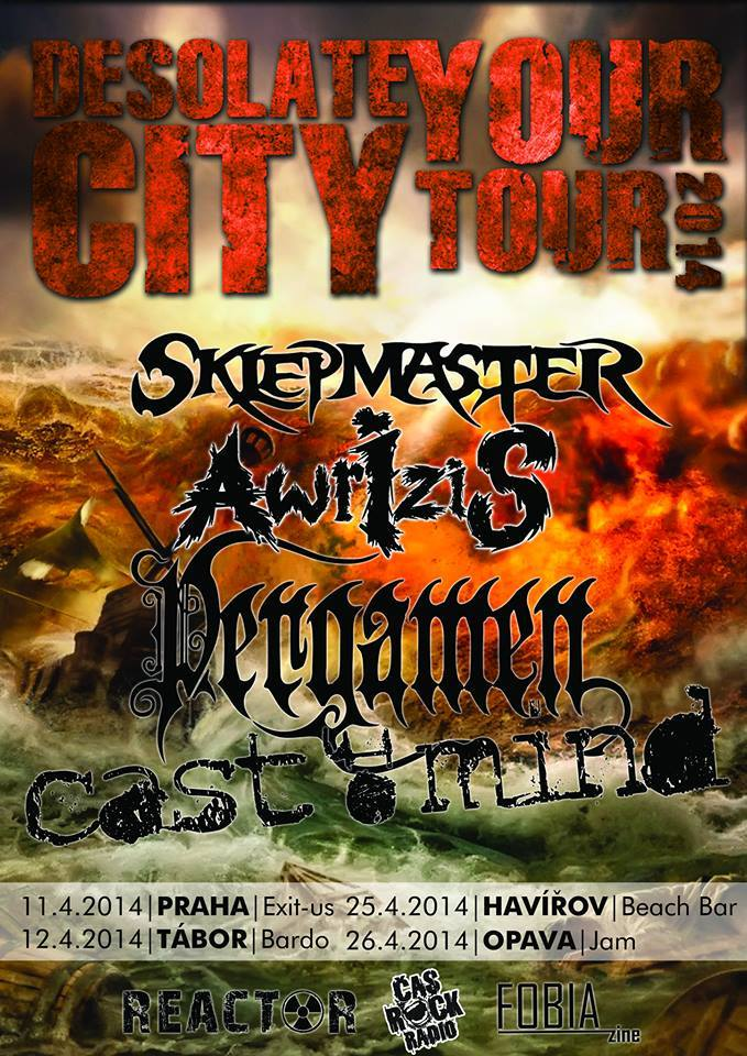 Detail akce Desolate Your City Tour 2014