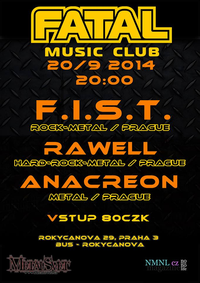 Detail akce F.I.S.T. , Anacreon, Rawell – reunion party