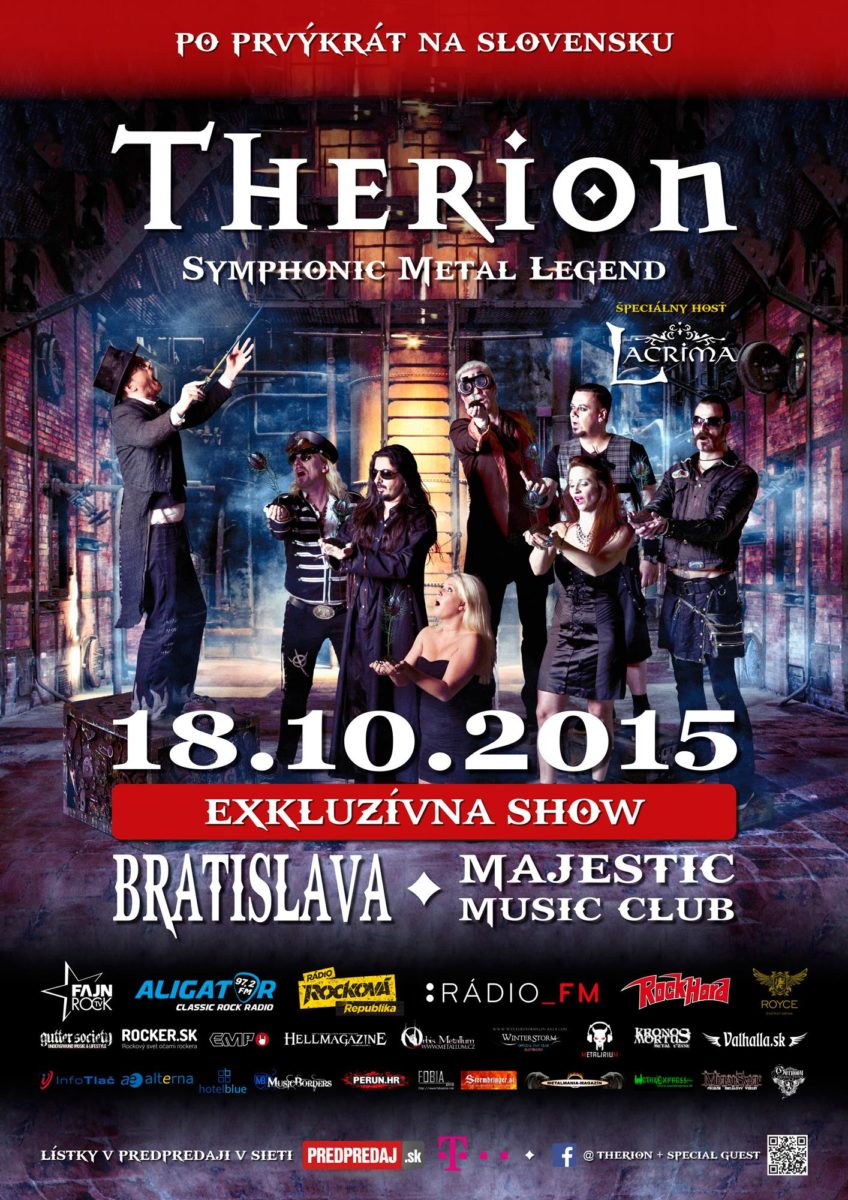 Detail akce Therion + special guest [Bratislava]