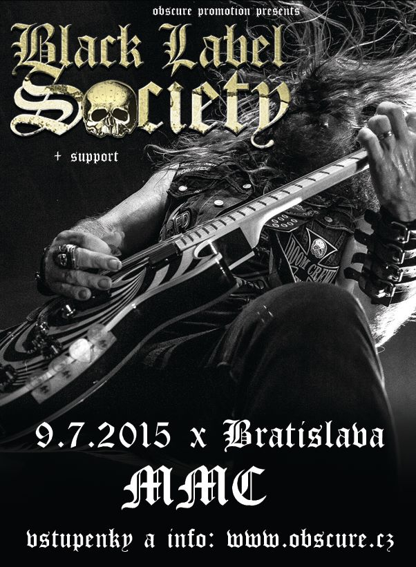 Detail akce Black Label Society