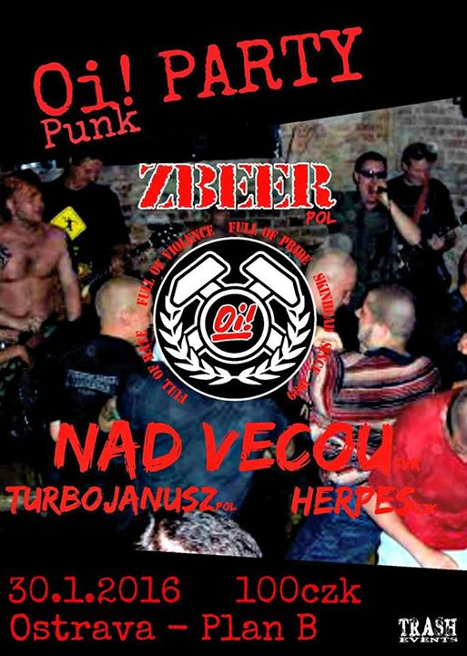 Detail akce Oi – Punk party