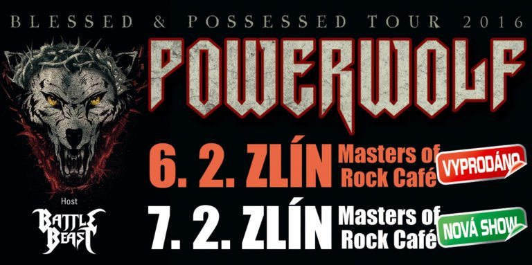 Powerwolf Zlín