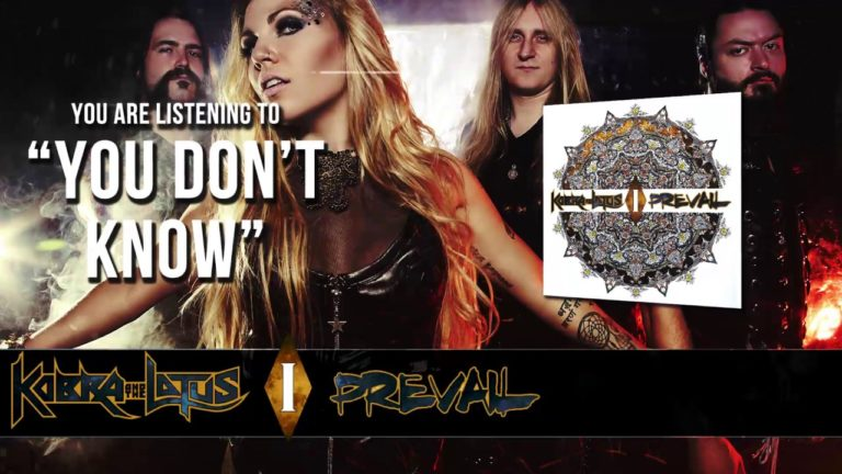 Kobra and the Lotus – You Don´t Know