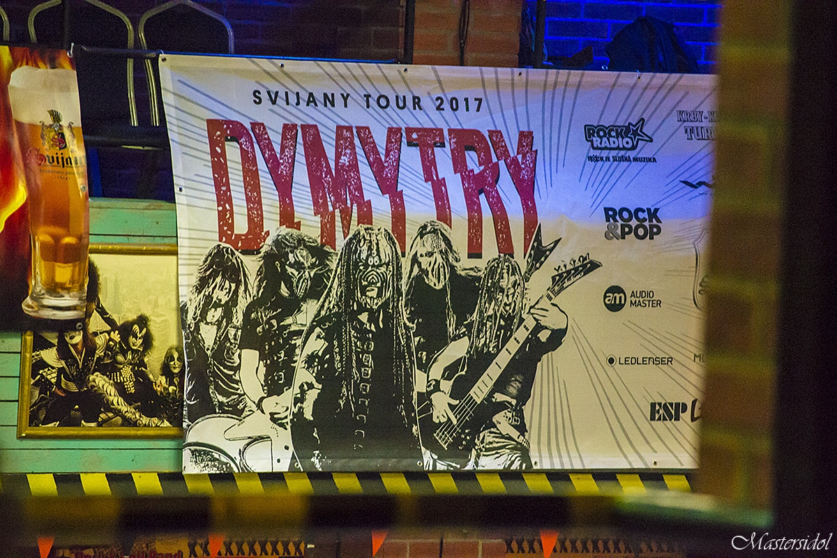 Dymytry, Komunál – Svijany tour 2017